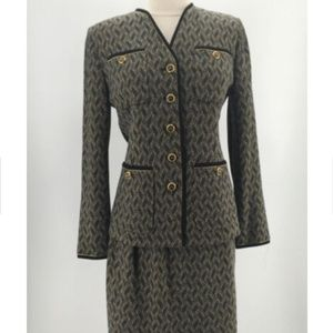 St. John Collection Knit Skirt Suit 819-25-8119